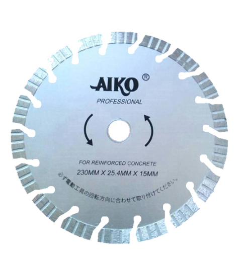 "Aiko 9"" Diamond Blade (Silver) 