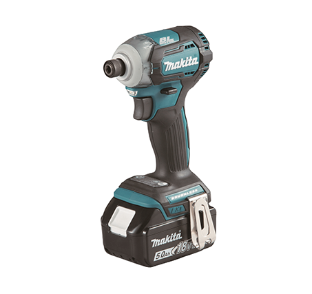 MAKITA 18V BrushLess 5.0AH Cordless IMPACT DRIVER | Model : DTD 170 RTE - Aikchinhin