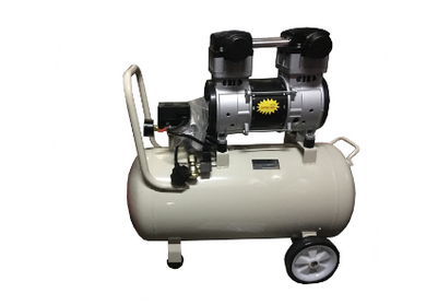 TIGER 3HP 30L 220V #GDG30(WH) OIL FREE&SILENT AIR COMPRESSOR. (EXPORT ONLY)W:6 MONTHS/(EXPORT ONLY) | Model : GDG30-WHITE