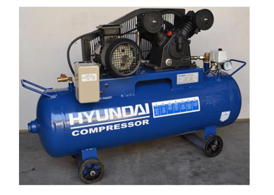 Hyundai 7.5Hp 250L 2Stage 10Bar 3Phase Air Compressor | Model : HYSA75-250H