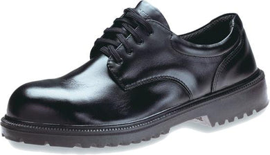 KING'S Black Full grain leather laced SAFETY SHOE | Model : KJ 404 SX, Sizes : #6 (40) - #11 (45) - Aikchinhin