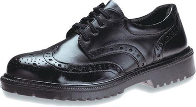 KING'S Executive Full Grain leather laced Black SAFETY SHOE | Model : KJ 484 SX, Sizes : #6 (40) - #9 (43) - Aikchinhin