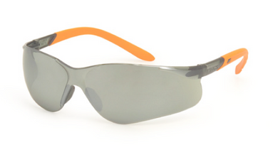 KING'S Smoke/Silver mirror Lens SAFETY EYEWEAR | Model : KY 2224