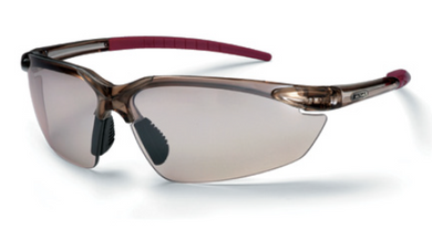 KING'S Clear/Silver Mirror Lens Safety Eyewear | Model : KY733