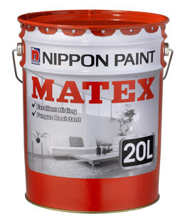 Nippon Matex 9102, 9103 (WHITE & BLACK) | Available in 7L and 20L - Aikchinhin