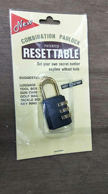 New Taiwan Resettable Lock #321 | Model : PL-T321