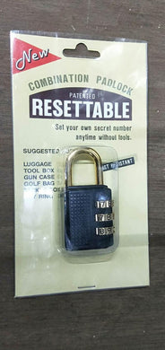 New Taiwan Resettable Lock #341 | Model : PL-T341