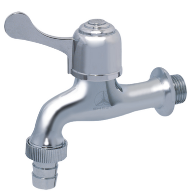 Quarter-Turn Single Lever Bib Tap With 1/2
