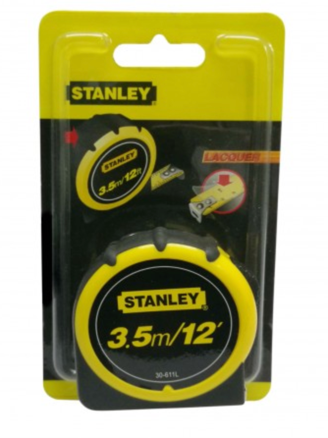 Stanley 3.5m Measuring Tape (Tape Measure) | Model : 30611 (STY30611L) - Aikchinhin