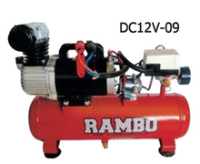 Load image into Gallery viewer, Rambo DC12V 142L/min Air Compressor | Model : DC12V | Tank Sizes : 9L or 25L - Aikchinhin