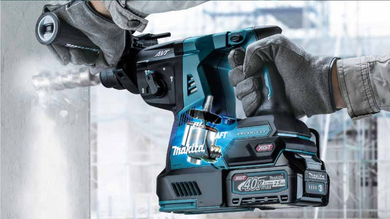 Makita 40V 28mm Brushless Combination Hammer with Normal Chuck | Model : HR003G
