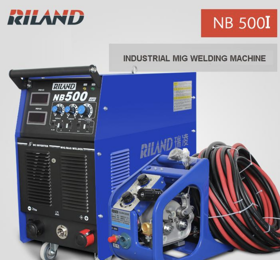 RILAND MIG & MMA 3 phase 500A welding machine | Model : NB500I - Aikchinhin