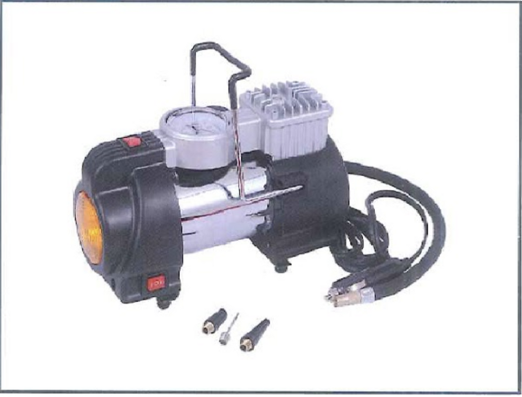 AIKO MINI AIR COMPRESSOR 12V for car use, Max Pressure 150PSI JB-82 or JB-88