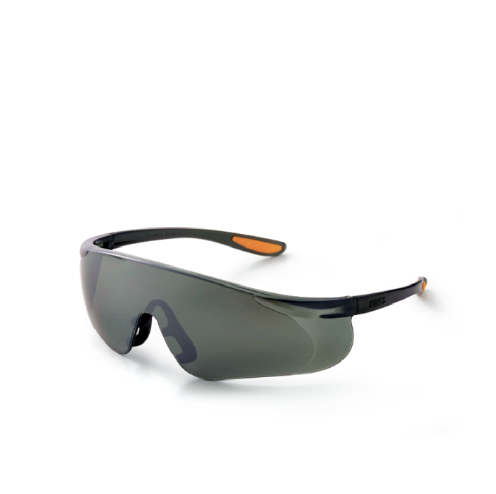 KING'S SMOKE/SILVER MIRROR Lens SAFETY EYEWEAR KY 1154 - Aikchinhin