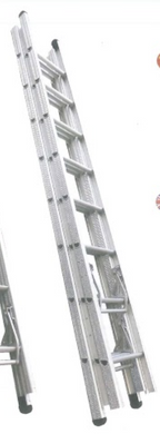 XG Aluminium Triple Extension Ladder | Sizes : 8'X8'X8', 10'X10'X10', 12'X12'X12' - Aikchinhin