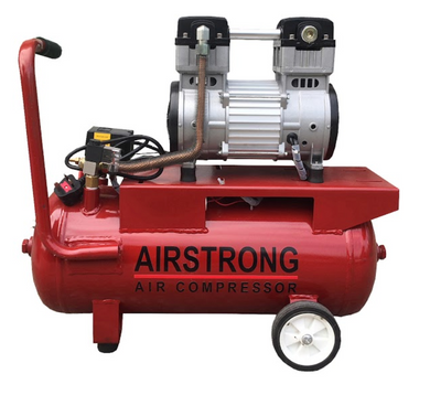 AIRSTRONG 3HP 30L 220V Model : #GDG30, OIL FREE & SILENT AIR COMPRESSOR