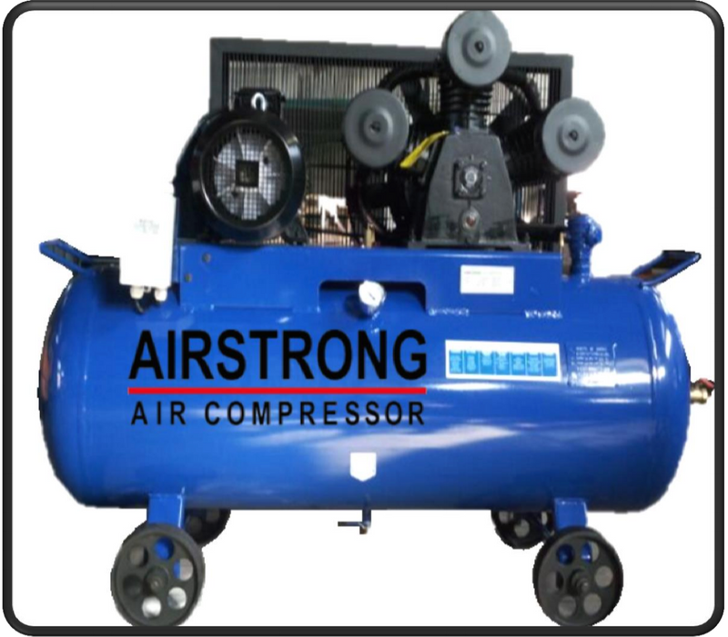 AIRSTRONG 10HP 300L 1STAGE 3PHASE 9BAR 415V AIR COMPRESSOR 3090 - Aikchinhin