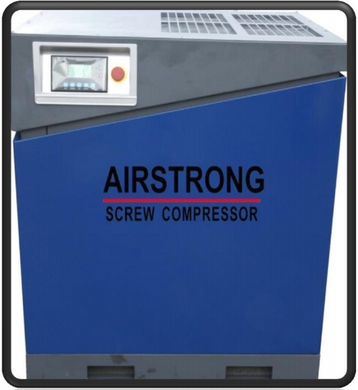 AIRSTRONG 15HP SCREW COMPRESSOR W/O TANK 10 BAR MODEL:KSAM15HP WARRANTEE SIX MONTHS NO