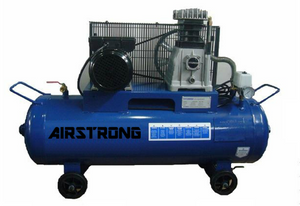 AIRSTRONG 2HP 100L 1STAGE 1PHASE ALUM AIR COMPRESSOR MODEL : ASSA20-100 - Aikchinhin