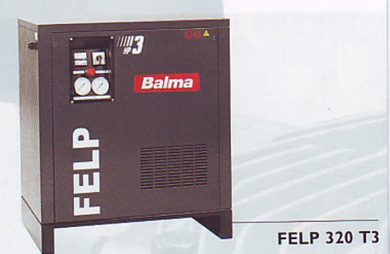 BALMA 3HP AIR COMPRESSOR MODEL : FELP320M 230V SILENT FELT 320