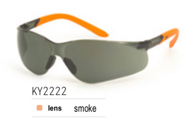 KING'S Smoke Lens SAFETY EYEWEAR | Model : KY 2222 - Aikchinhin