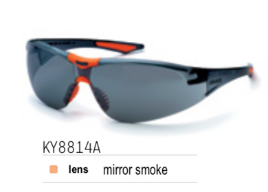 KING'S Smoke Mirror Lens SAFETY EYEWEAR | Model : KY 8814 A - Aikchinhin