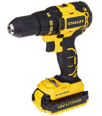 Stanley 20V 2.0Ah Brushless Drill Driver | Model : SBD201D2K-B1