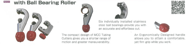 MCC Tubing Cutter Bearing Rollers | Sizes : 28mm (MCC-TC-28), 32mm (MCC-TC-32), 42mm (MCC-TC-42)