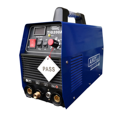 Aiko 240V TIG200A Welding Machine 2T/4T IGBT C/W WP26/3M And Earth 3M Torch 3M | Model : W-TIG200A-PRO - Aikchinhin