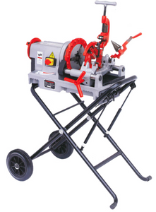 "AIKO 2"" 1500W Threading Machine with Petal and Trolley Stand 