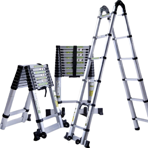 XG Double Side Telescopic Ladder | Model : L-XG130A