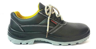 Honeywell Low Cut Laced Black leather Safety Shoes | Model : 9541 B-ME, Sizes : #5 (38) - #12 (47) - Aikchinhin