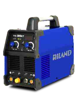Riland TIG200CT SS Welding Machine C/W 8M Torch WP26-8 | Model : W-TIG200CT-R
