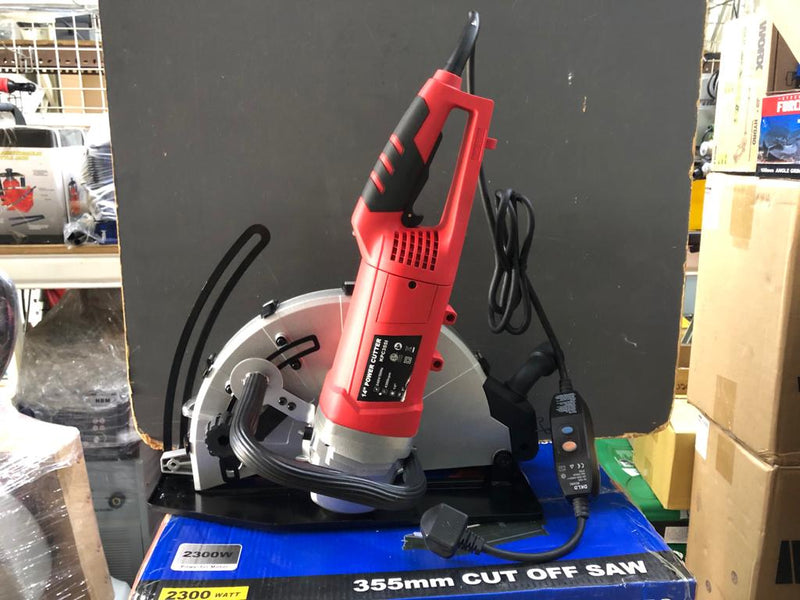 "Steel Force 14"" 2300W  Power Angle Cutter without Saw Blade 