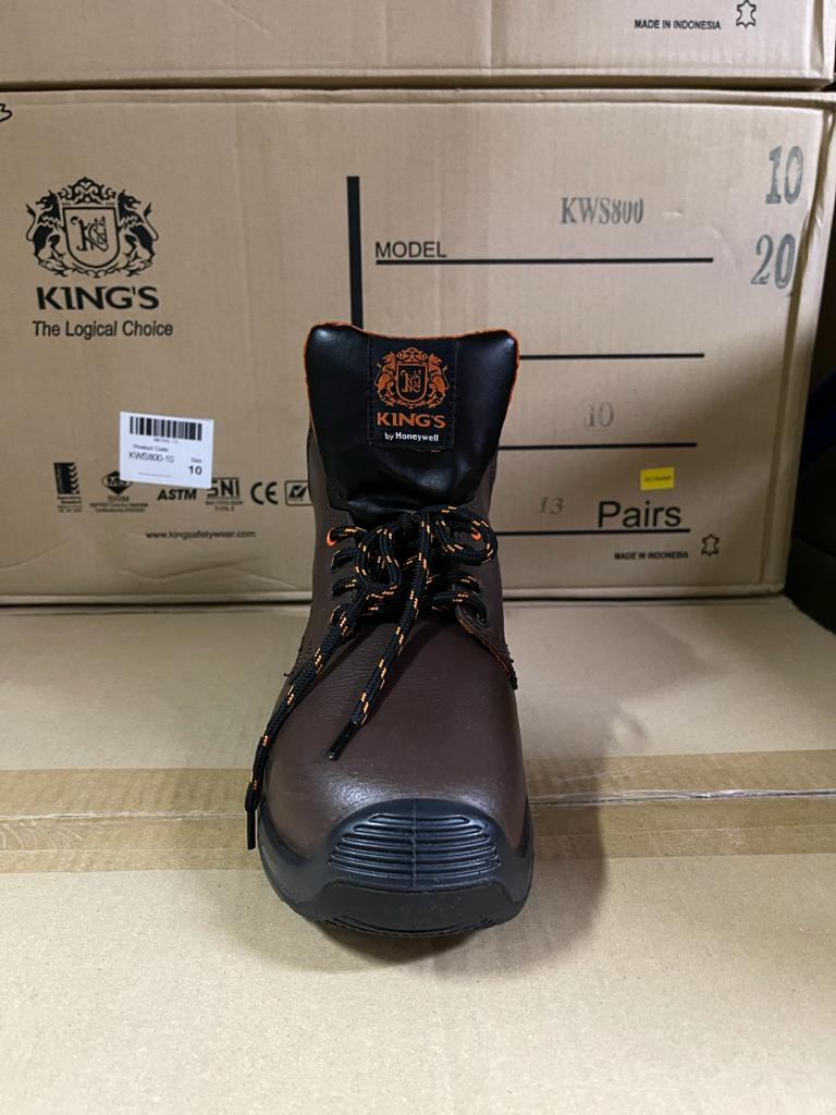 King'S Br H/Cut Padded Ankle Collar Boot Dd | Model : KWD301K (Replace KWD901K) | UK Sizes: #6, #7, #8, #9, #10