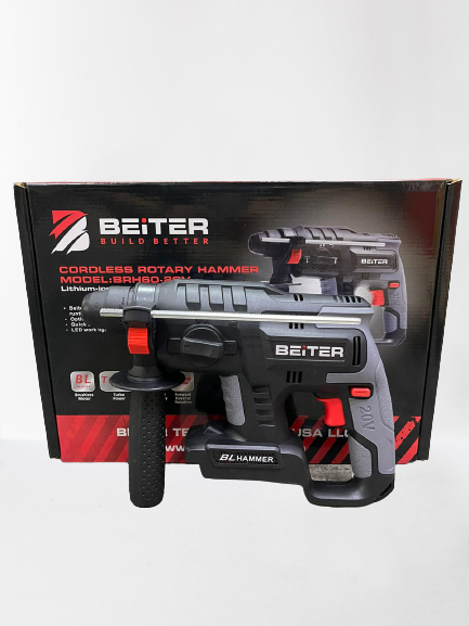 Beiter 20V C/W 5.0Ah Cordless Rotary Hammer Drill Battery And Charges | Model : BRH60-20V