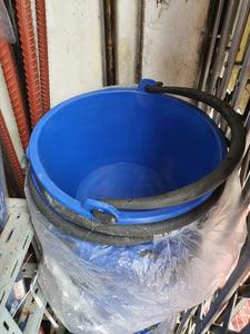 Blue Cement Pail (Bucket) with PVC Handle-SB | Model : PAIL-BL