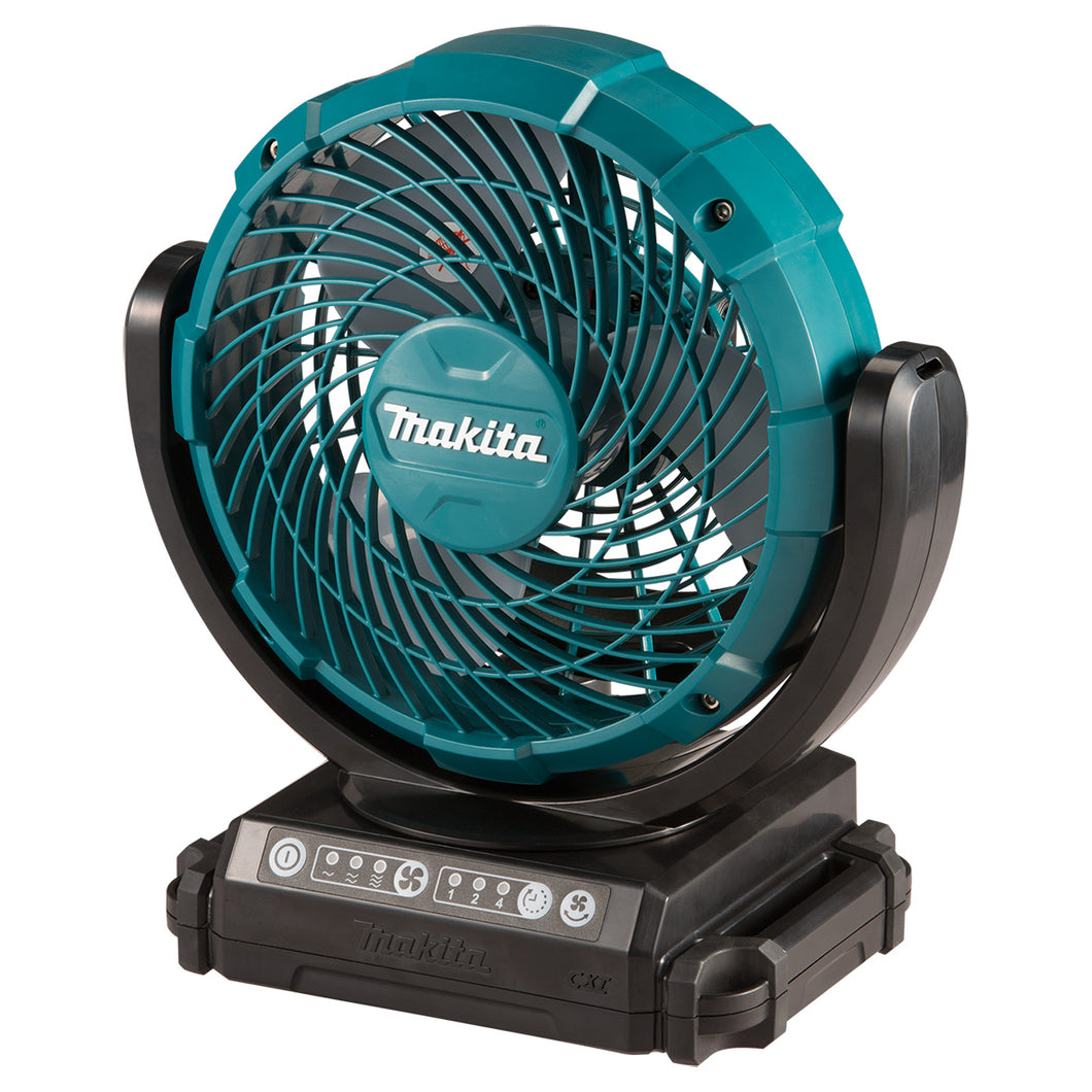 Makita 12V DC Portable Cordless Fan + Free 1x 12V 2.0Ah Battery | Model : CF 101 D - Aikchinhin