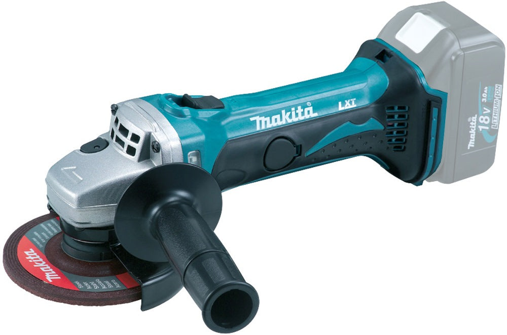 MAKITA 100MM 18V Cordless ANGLE GRINDER, Bare Unit, Model : DGA 406 Z - Aikchinhin