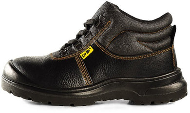 D&D Mid Cut & Laced Up Safety Shoe | Model : 3818 | Sizes : #5, #6, #7, #8, #9, #10, #11, #12