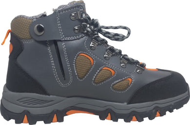 D&D Mid Cut & Laced + Zip up Sport Safety Shoe | Model : 8868 | Sizes : #5, #6, #7, #8, #9, #10