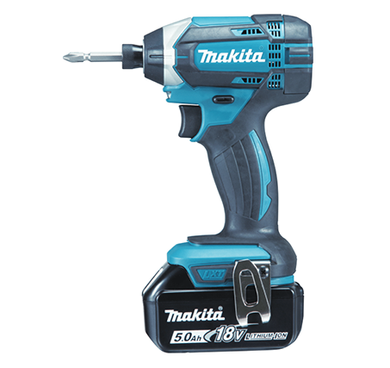 MAKITA 18V 3.0Ah CORDLESS IMPACT DRIVER | Model : DTD 152 RFE, supplied with 2x 3.0Ah batteries (BL1830) & charger (DC18RC) with carry case - Aikchinhin