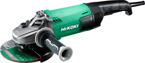 "Hikoki 180mm (7"") Disc Grinder (Angle Grinding Machine) with Trigger Switch 
