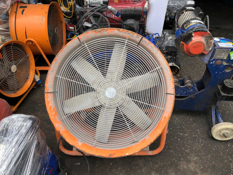 "Aiko Large Ventilator Blower with Wheels | Sizes : 16"", 20"", 24"", 24"" (415V) - Aikchinhin"
