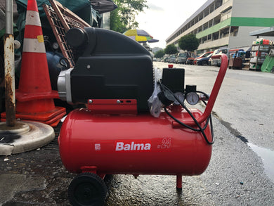 Balma 2Hp 24L 230V Direct (Asme) Made In Italy | Model - SIRIO241-ASME