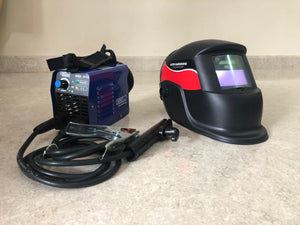 Aiko 220V MMA Welding Machine with free Welding Helmet (HS2-WH4000) | Model : W-MMA201G