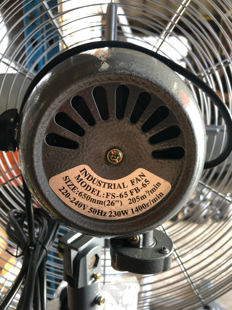 "Industrial Stand Fan | Sizes : 20"" , 26"""