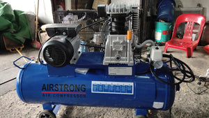 AIRSTRONG 3HP 100L 1STAGE 240V ALUM AIR COMPRESSOR MODEL:ASSA30-100H - Aikchinhin