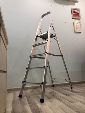 XG Aluminium household FAMILY LADDER | Model : XG102A, Sizes : 3 steps - 8 steps - Aikchinhin