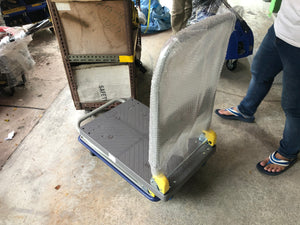 M10 Plastic Trolley | Capacity : 150kg or 300kg | Model : TR2828 or TR3639 - Aikchinhin